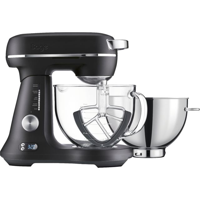 Sage The Bakery Boss™ SEM825BTR2GUK1 Stand Mixer with 4.7 Litre Bowl - Black Truffle