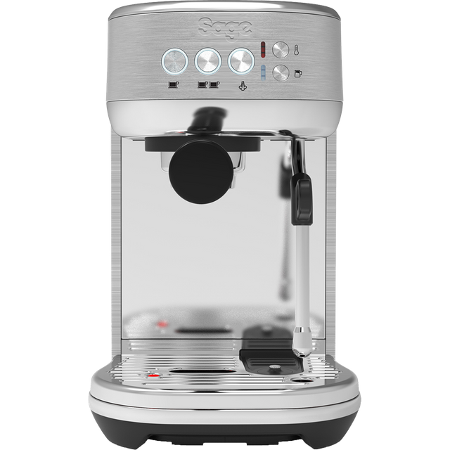 Sage The Bambino Plus SES500BSS4GUK1 Espresso Coffee Machine - Brushed Stainless Steel - SES500BSS4GUK1_BSS - 1