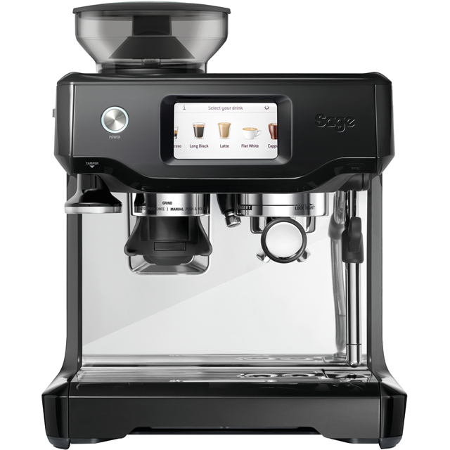 Sage The Barista Touch SES880BTR Bean to Cup Coffee Machine - Black Truffle