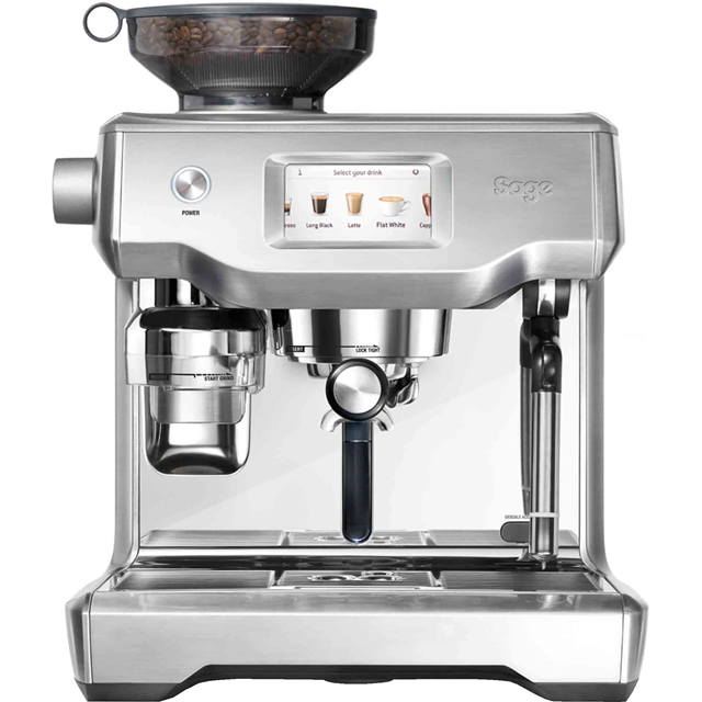 Sage The Oracle Touch SES990BSS Bean to Cup Coffee Machine - Stainless Steel / Chrome - SES990BSS_SSC - 1