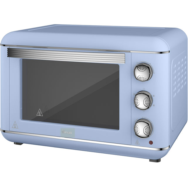 Swan Retro SF37010BLN Mini Oven in Blue