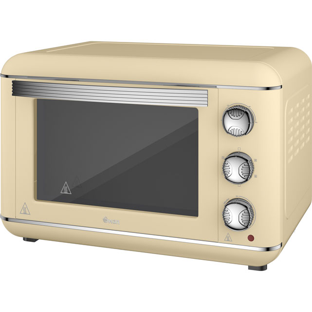 Swan Retro SF37010CN Mini Oven in Cream