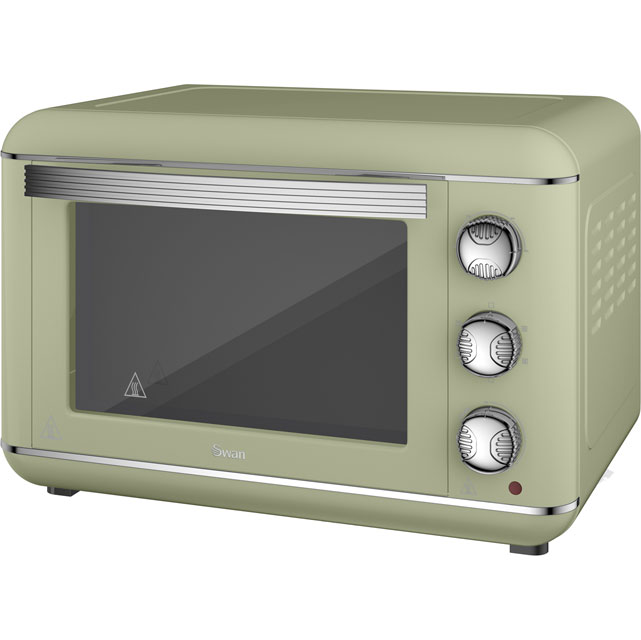 Swan Retro SF37010GN Mini Oven in Green