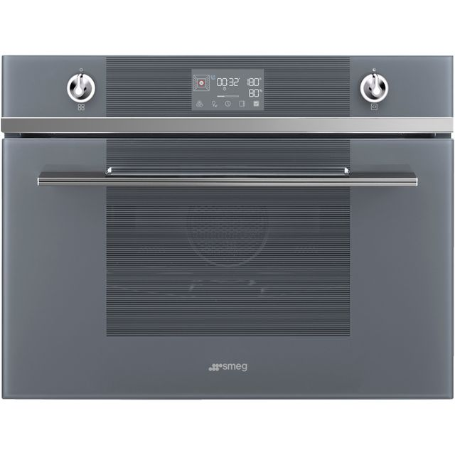 Smeg Linea SF4102VCS Built In Electric Single Oven - Silver - SF4102VCS_SI - 1