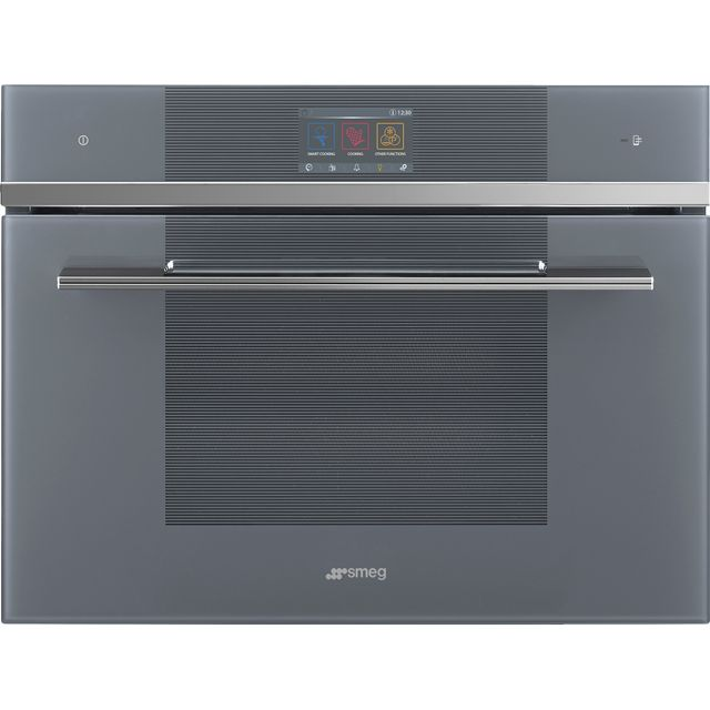 Smeg Linea SF4104WVCPS Built In Electric Single Oven - Silver - SF4104WVCPS_SI - 1