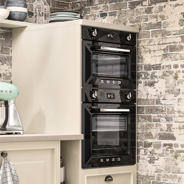 Smeg Victoria SF4920VCP1 Built In Electric Single Oven - Cream - SF4920VCP1_CR - 3