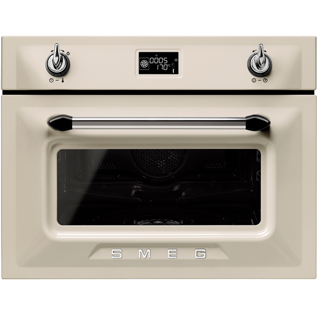 Smeg Victoria SF4920VCP1 Built In Electric Single Oven - Cream - SF4920VCP1_CR - 1