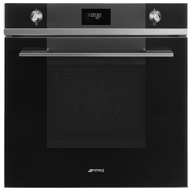 Smeg Linea SF6101TVN1 Built In Electric Single Oven - Black - SF6101TVN1_BK - 1