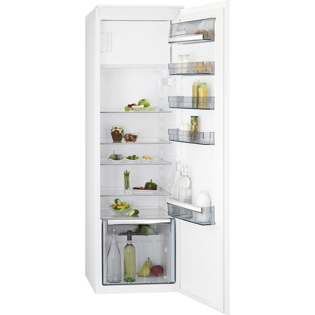 AEG SFE8182VDC Integrated Upright Fridge with Ice Box - Sliding Door Fixing Kit - White - A++ Rated