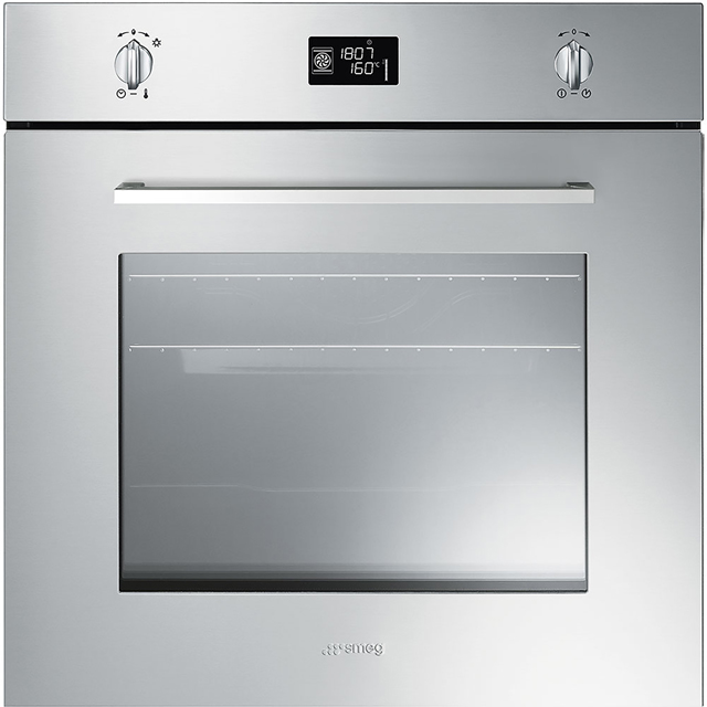 Smeg Cucina Electric Single Oven - Stainless Steel - A+ Rated