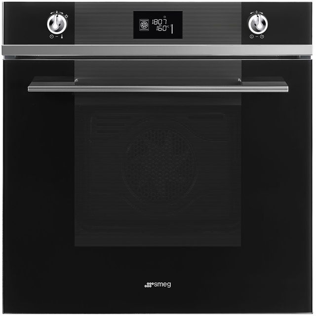 Smeg Linea SFP6102TVN Built In Electric Single Oven - Black - SFP6102TVN_BK - 1