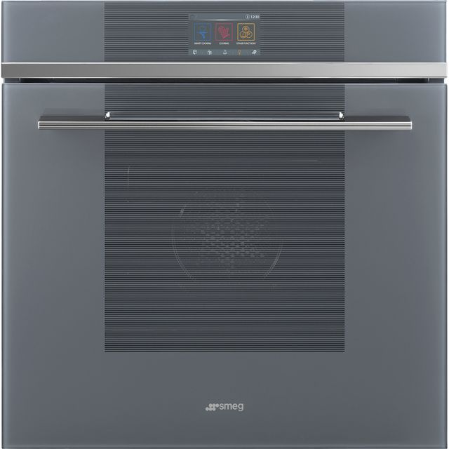 Smeg Linea SFP6104SPS Built In Electric Single Oven - Silver - SFP6104SPS_SI - 1