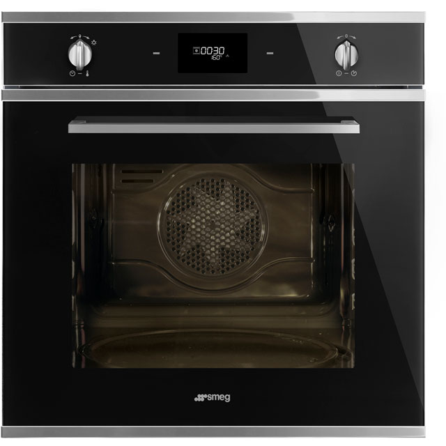 Smeg Cucina SFP6401TVN Built In Electric Single Oven - Black - A Rated