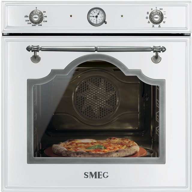 Smeg Cortina Electric Single Oven - White - A Rated