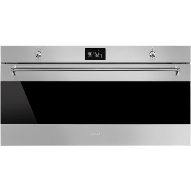 Smeg Classic SFR9390X Built In Compact Electric Single Oven - Stainless Steel - A+ Rated