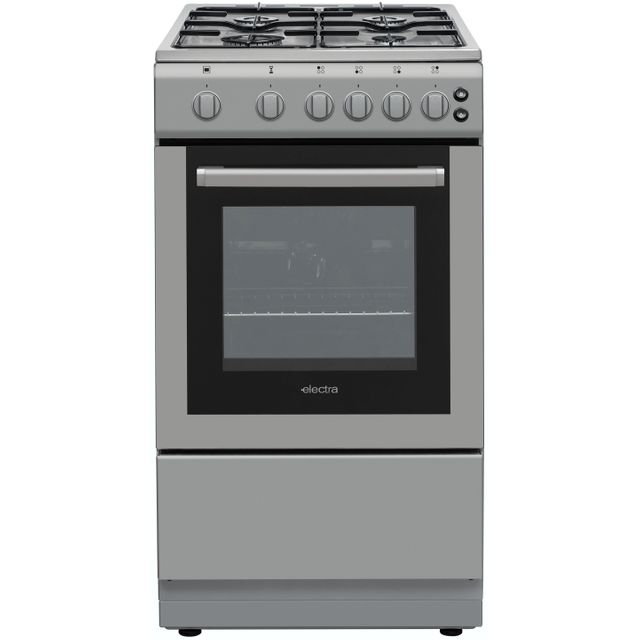 Electra SG50S 50cm Gas Cooker - Silver - A Rated