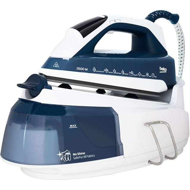 Beko SteamXtra SmartStation™ SGA7124B Pressurised Steam Generator Iron - SGA7124B_BL - 1