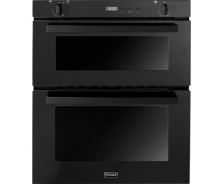 Stoves SGB700PS Built Under Double Oven - Black - B/A Rated - SGB700PS_BK - 1