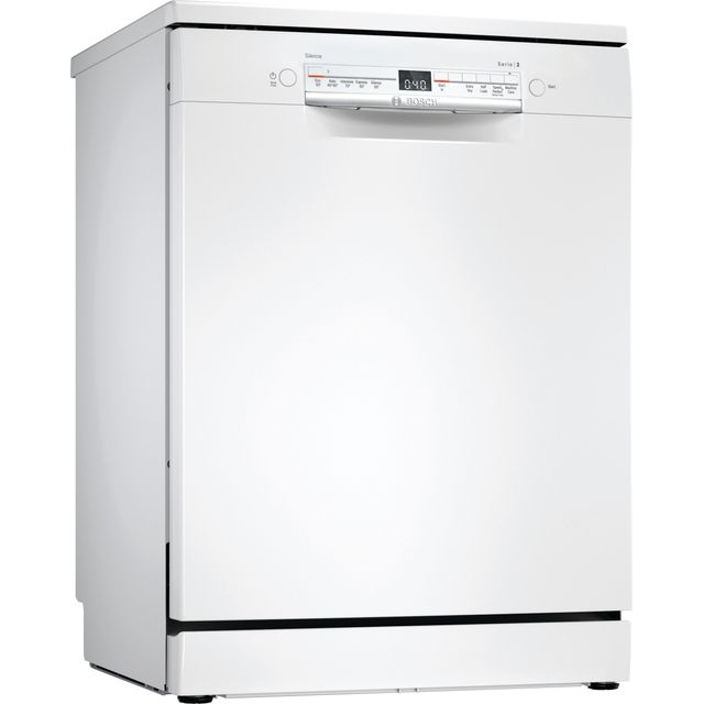 Bosch Serie 2 SGS2HVW66G Standard Dishwasher - White - E Rated