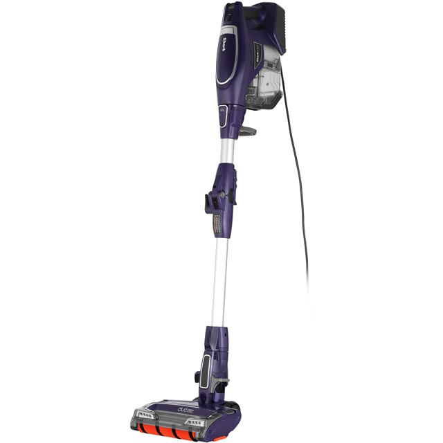Shark DuoClean Corded with Flexology HV390UK Upright Vacuum Cleaner in Deep Purple