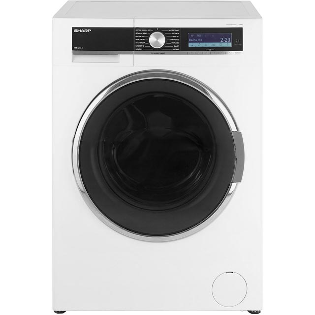 Sharp ES-GDD9144W0 9Kg / 6Kg Washer Dryer with 1400 rpm - A Rated