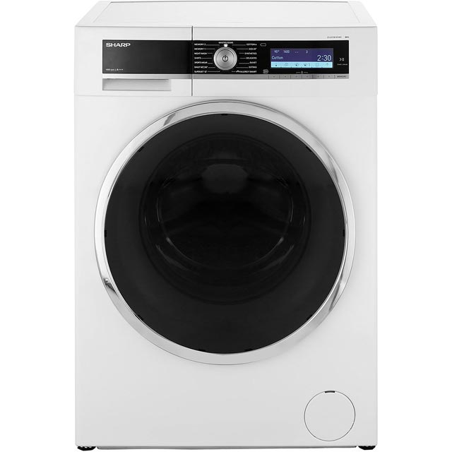 Sharp ES-GFD8145W5 8Kg Washing Machine with 1400 rpm - White - A+++ Rated