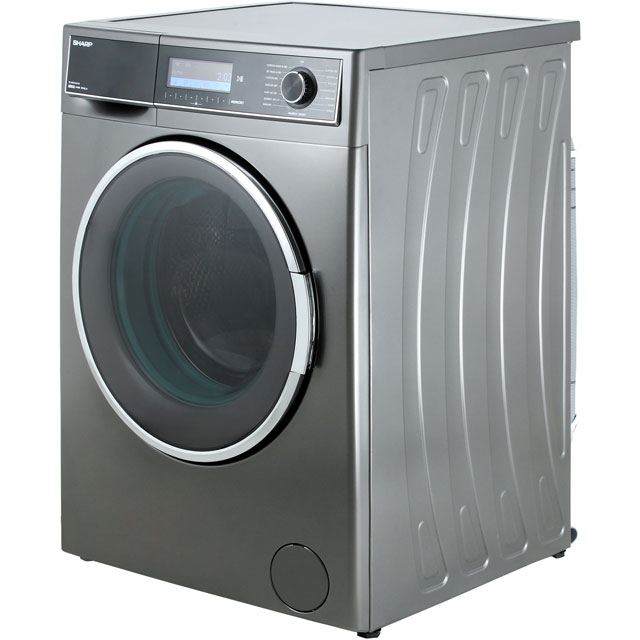 Sharp ES-HDD1047A0 10Kg / 6Kg Washer Dryer - Dark Silver - ES-HDD1047A0_DSI - 5