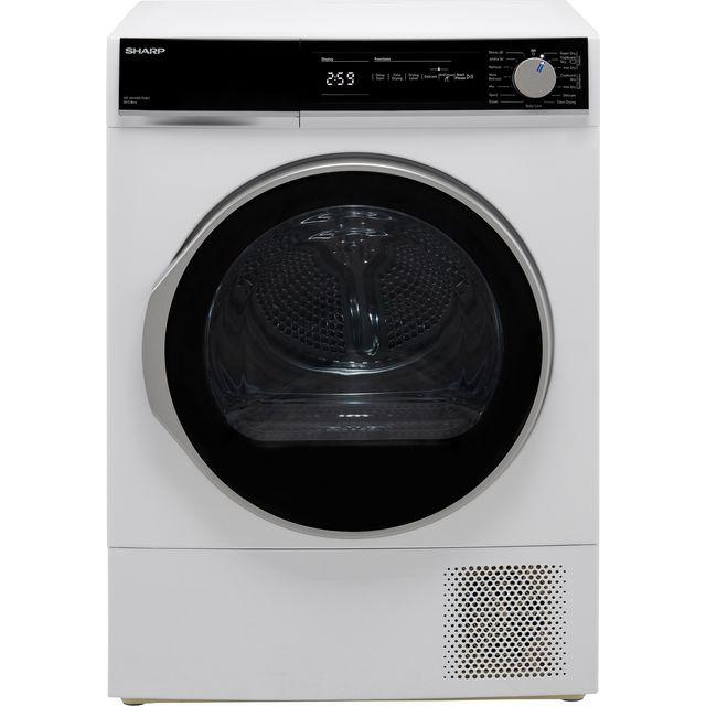 Sharp KD-NHH8S7GW2-EN Heat Pump Tumble Dryer - White - A++ Rated