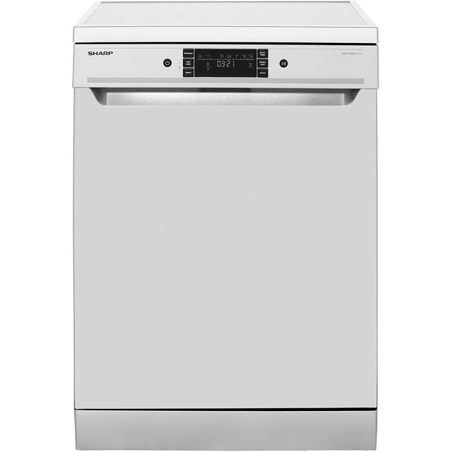 Sharp QW-GT34F463I Standard Dishwasher - Stainless Steel - A+++ Rated Best Price, Cheapest Prices