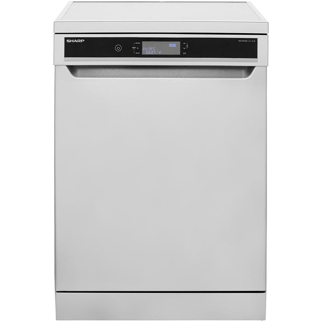 Sharp QW-GT45F444I Standard Dishwasher - Stainless Steel - A+++ Rated Best Price, Cheapest Prices