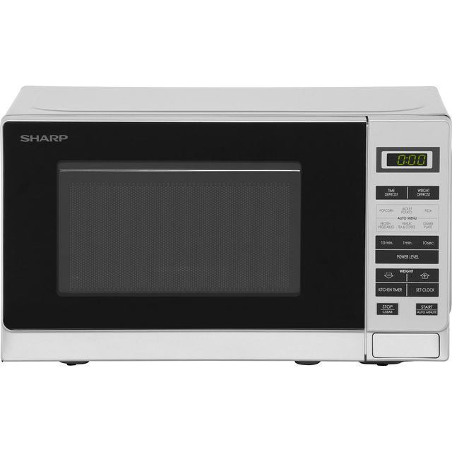 Sharp Microwave R220SLM Free Standing Microwave Oven in Silver