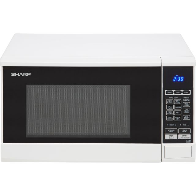 Sharp R270WM 20 Litre Microwave - White