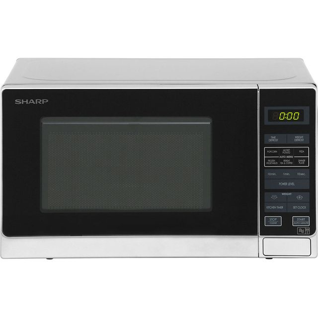 Sharp Microwave R272SLM Free Standing Microwave Oven in Silver