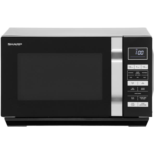 Sharp R360KM 23 Litre Microwave - Black