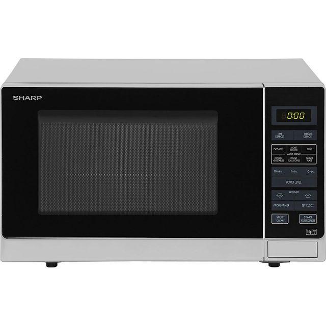 sharp r959slmaa. sharp r372slm 25 litre microwave - silver r959slmaa