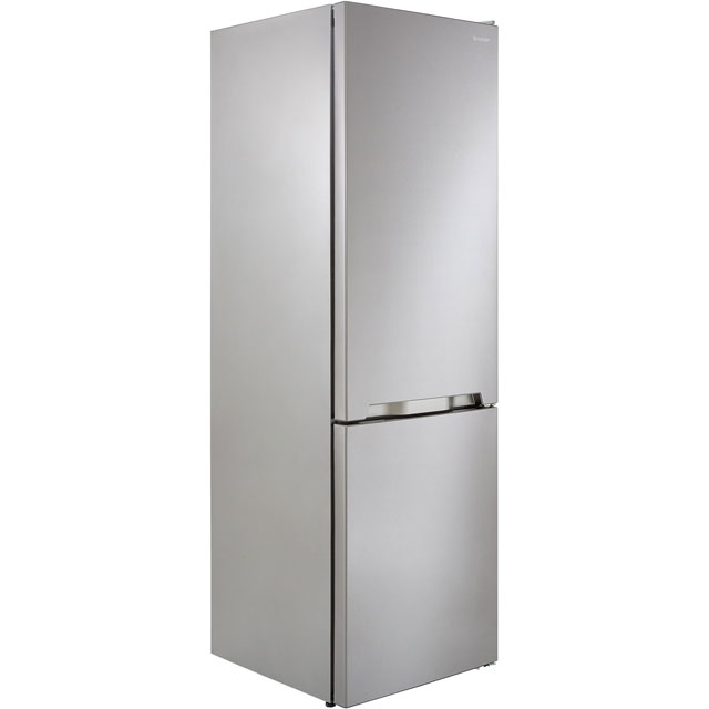 Sharp SJ-BA10IMXI1-EN 60/40 Frost Free Fridge Freezer - Stainless Steel - A+ Rated Best Price, Cheapest Prices
