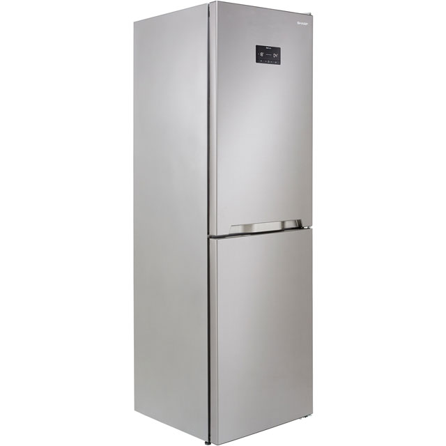 Sharp SJ-BA33IHXI2-EN 50/50 Frost Free Fridge Freezer - Stainless Steel - A++ Rated - SJ-BA33IHXI2-EN_SSL - 1