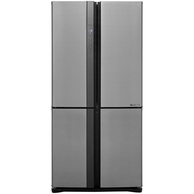Sharp SJ-EX820FSL American Fridge Freezer - Silver - A++ Rated