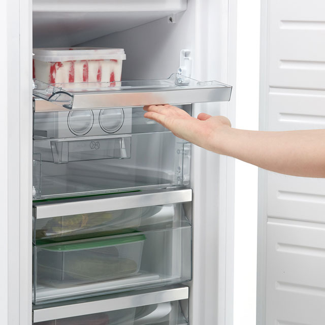 Sharp SJ-S1197E00X-EN Integrated Frost Free Upright Freezer with Fixed Door Fixing Kit - A+ Rated - SJ-S1197E00X-EN_WH - 1
