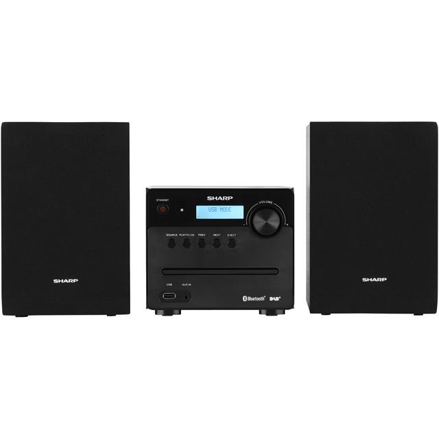Sharp Audio XL-B515D Hi-Fi System in Black