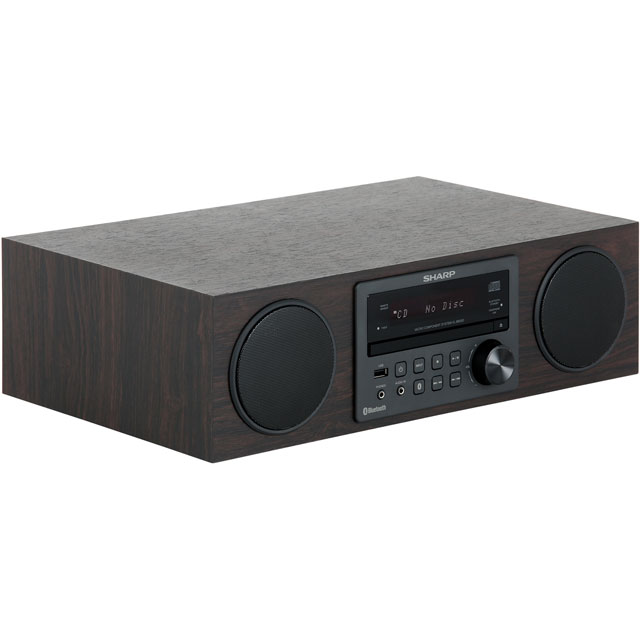 Sharp XL-BB20D Hi-Fi System - Brown - XL-BB20D_BR - 2