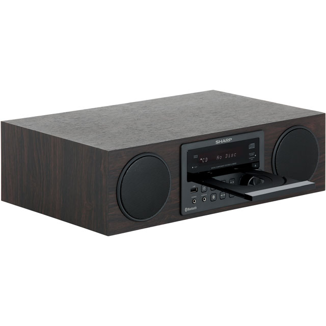 Sharp XL-BB20D Hi-Fi System - Brown - XL-BB20D_BR - 3
