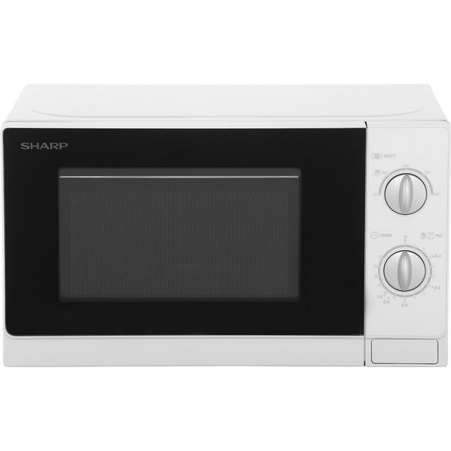 Sharp R20DWM 20 Litre Microwave - White