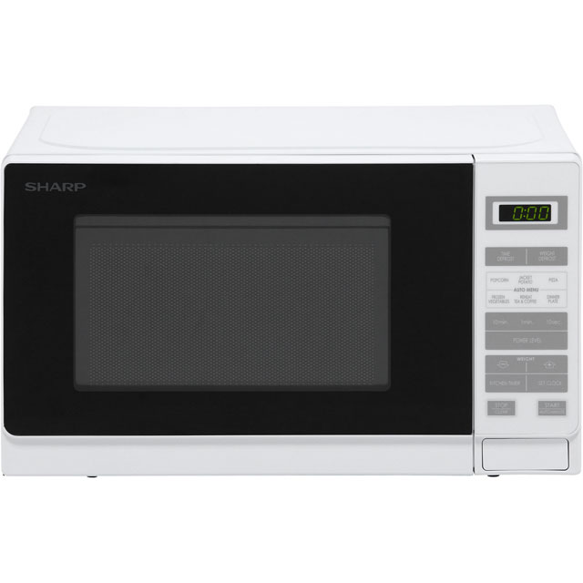 Sharp R220WM 20 Litre Microwave - White