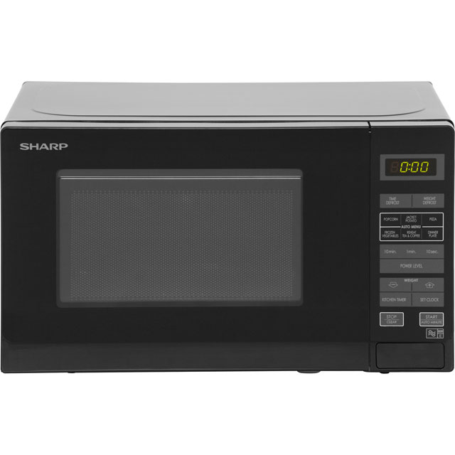 Sharp R272KM 20 Litre Microwave - Black - R272KM_BK - 1