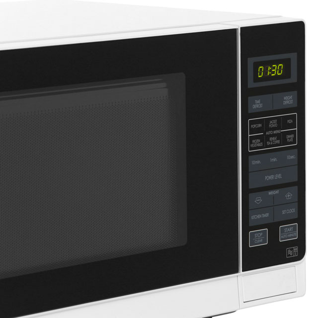 Sharp R372KM 25 Litre Microwave - Black - R372KM_BK - 3