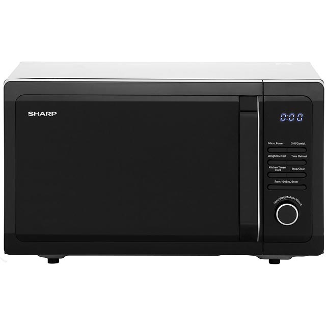 Sharp R764KM 25 Litre Microwave With Grill - Black