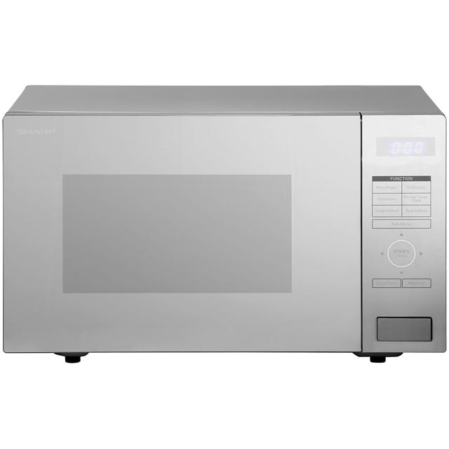 Sharp R870SLM Combination Microwave Oven - Silver