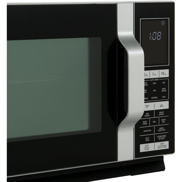Sharp R890S 28 Litre Combination Microwave Oven - Silver - R890S_SI - 3