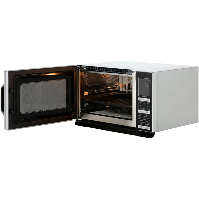 Sharp R890S 28 Litre Combination Microwave Oven - Silver - R890S_SI - 5